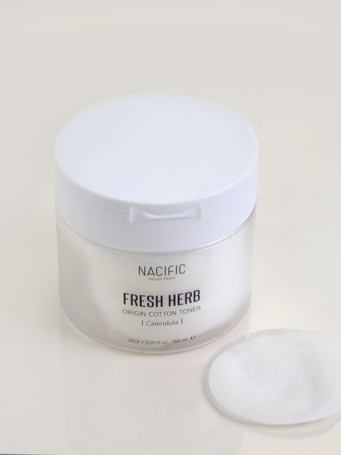 Fresh Herb Origin Cotton Toner (70ea / 170ml)