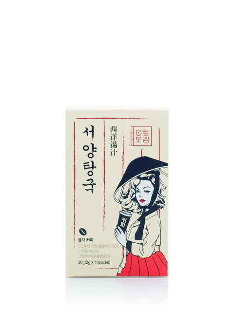 Korean Traditional DIET Black Coffee (10sticks)