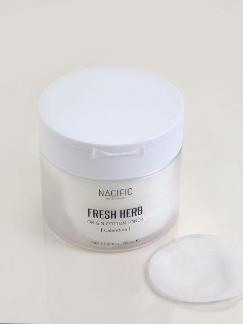 Fresh Herb Origin Cotton Toner (70ea / 170ml)