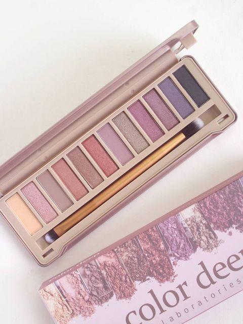 12 Color Eyeshadow Palette (1.5g*12ea)_Glam Shine