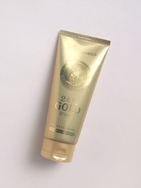 24K Gold Snail Cleansing Foam (180ml)