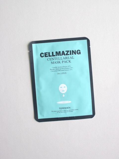 Cellmazing Centellareal Mask Pack 1 sheet (22ml)
